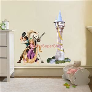 rapunzel wall stickers rapunzel tower tangled decal removable wall sticker decor