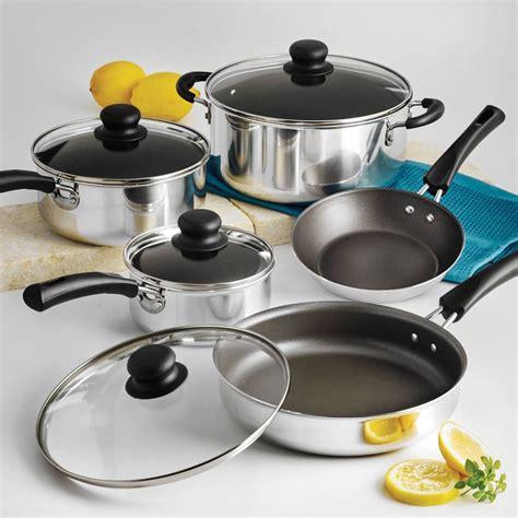 Teflon Set nonstick 9 pots and pans cookware set cooking set ebay