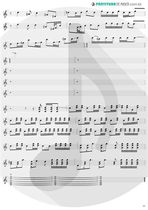 Partitura de musica - Guitarra Elétrica | Pink | Aerosmith