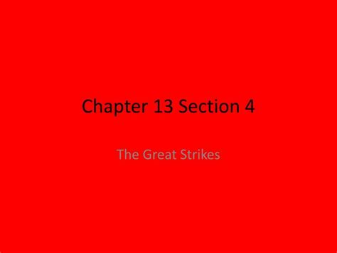 chapter 13 section 4 ppt chapter 13 section 4 powerpoint presentation id