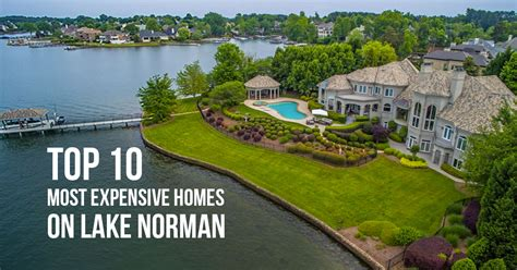 boat house lake norman top 10 most expensive homes on lake norman 2016 edition