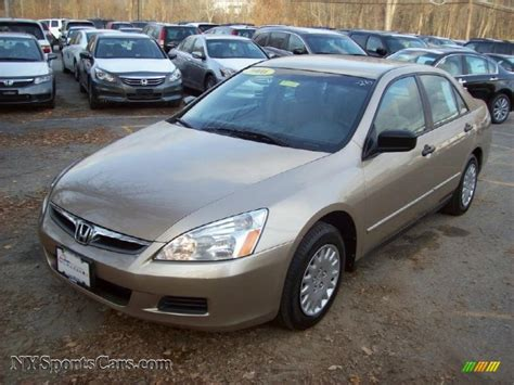 2006 honda accord value package sedan in desert mist