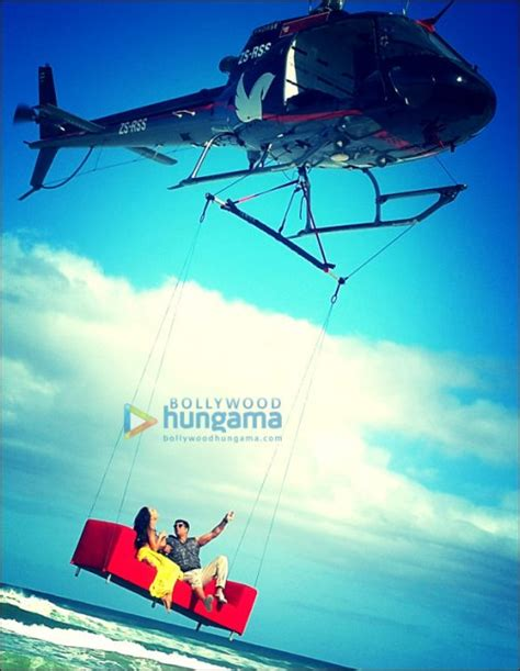 flying couch check out akshay kumar and lisa haydons flying couch in