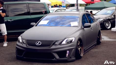 stanced toyota avalon stanced lexus and toyotas gathered at japanese car