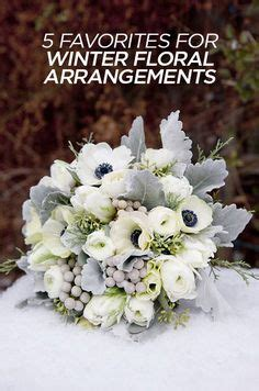 real weddings get inspired on your big day with our real winter arrangements on pinterest christmas wedding