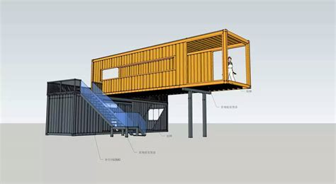 Cheap Home Plans by 2unit 40ft Shipping Container Coffee Shop Pop Up