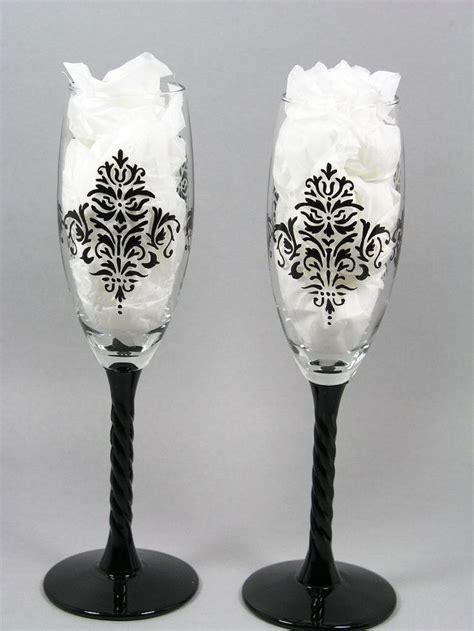 black patterned wine glasses 73 best images about glass painting on pinterest candy