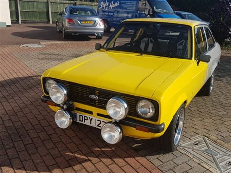 ford mk escort built  goblin works garage tv sh  sale car  classic