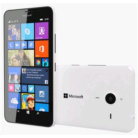 Microsoft Rm 1067 microsoft lumia 640 xl smartphone rm 1067 white dual sim a00025245 expansys canada