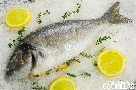 dorada al horno ala sal receta de dorada a la sal pescado al horno f 225 cil