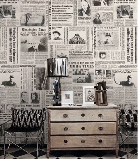 Decoration Articles | 25 best ideas about newspaper wallpaper on pinterest