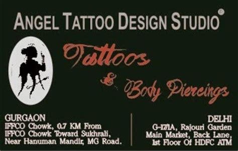 angel tattoo design studio gurgaon haryana angel tattoo design studio tattoo in gurgaon tattoo