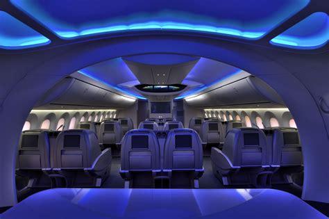 Boeing 787 Dreamliner Cabin by Boeing 787 Dreamliner Class Cabin