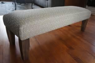Padded Benches Living Room Modern Upholstered Bench