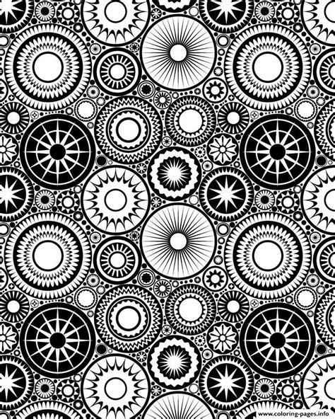 zen patterns coloring pages patterns circles adult zen coloring pages printable