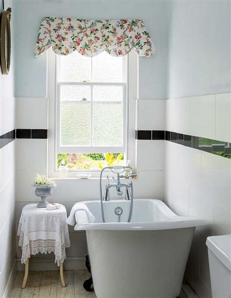 small cottage bathroom ideas lewis cottage bathroom with slipper bath and window