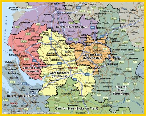 map of warrington warrington images of chauffeur cars available for hire