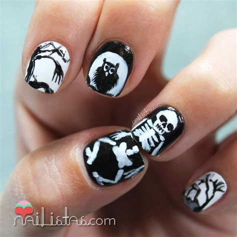 Imagenes De Uñas Decoradas Halloween 2015 | 7 u 241 as decoradas para halloween 2014 nailistas u 241 as