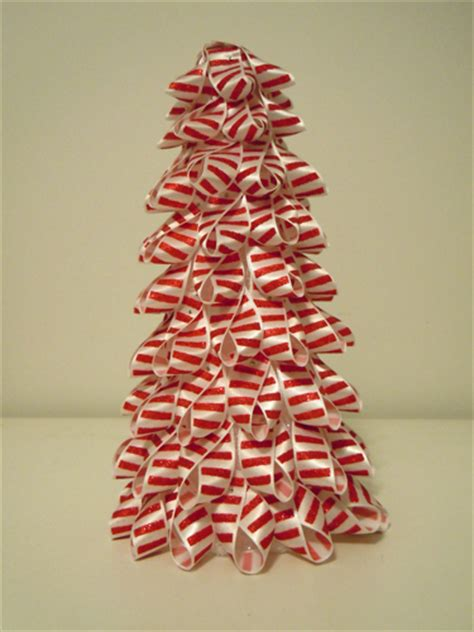 christmas ribbon trees