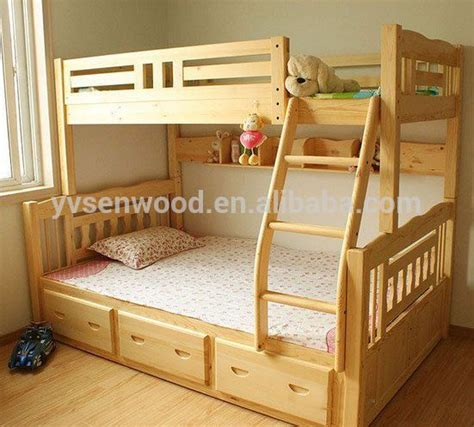 kids double bed wooden bed modern kids double deck bed buy kids double