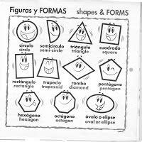 figuras geometricas y sus nombres en ingles 1000 images about pre k spanish on pinterest spanish