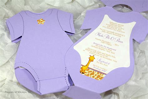 onesie invitation template onesie baby shower invitation baby announcement giraffe