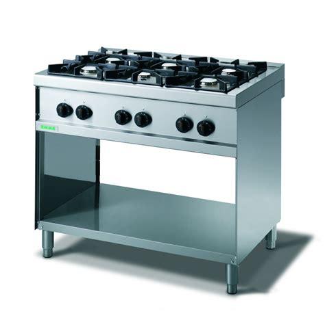 cucine fuochi cucina inox per ristoranti 6 fuochi a gas cucine