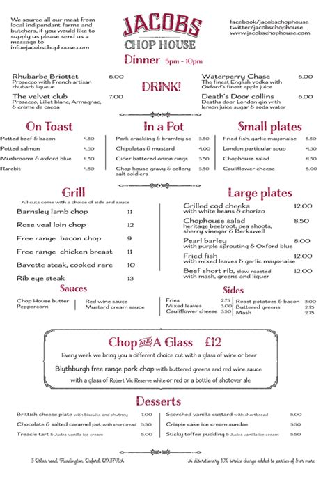 the chop house menu foodieontour food family and a sprinkling of fitness preview jacobs chop house