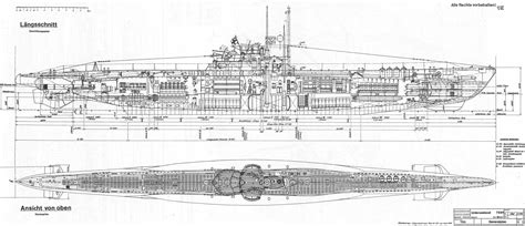 U Boat Drawing by Wwii U Boat Schematic Diagram Wwii Free Engine Image For