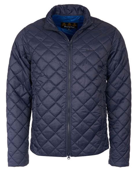Quilted Coats Uk by Barbour Mens Rowlock Quilt Jacket Navy Mqu0774ny71