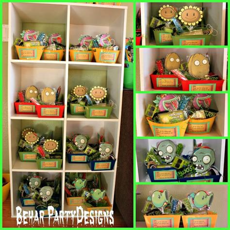 Cubicle Decoration Themes - plants vs zombies birthday party ideas photo 7 of 64 catch my party