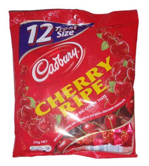 Cadbury Cherry Ripe 180g cadbury cherry ripe sharepack chocolate from australia