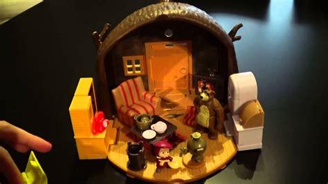 orso casa masha e orso la casa di orso playset richiudibile home