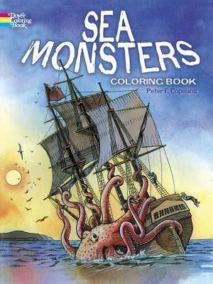 Copeland S Gift Card Balance - sea monsters coloring book by peter f copeland paperback booksamillion com books