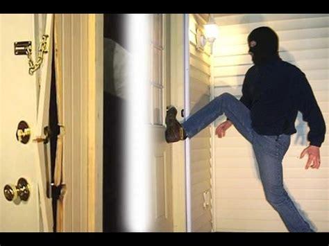 front door security  reinforcement youtube
