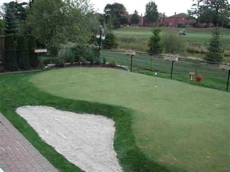 golf putting greens for backyard triyae com real putting green backyard various design inspiration for backyard