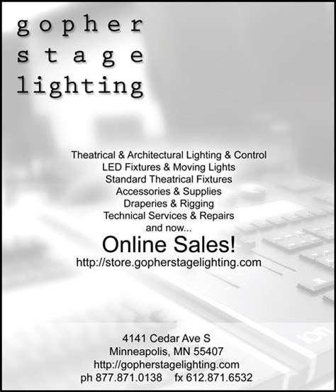 gopher stage lighting store gopher stage lighting