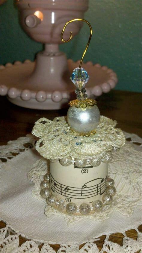vintage thread spool ornament crafts pinterest