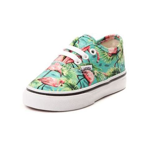 vans flamingo pattern toddler vans authentic flamingo skate from journeys