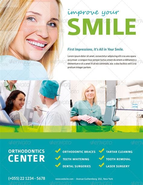 dental flyer templates 15 premium flyer templates for printing