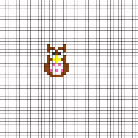 animal perler bead patterns owl perler bead pattern bead sprites animals fuse bead