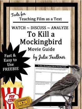themes to kill a mockingbird movie book comprehension and end of on pinterest
