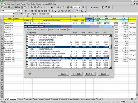 concretecost estimator for excel flip houses now download home construction cost software homecost