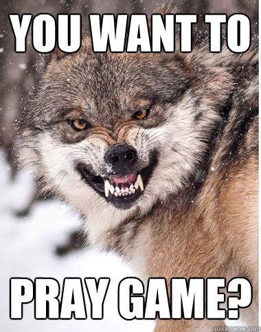 Wolf Meme - site unavailable
