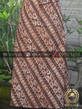 Kain Batik Sogan Parang A8 jual kain batik motif klasik parang klithik seling thebatik co id