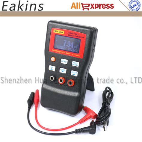 inductor and capacitor meter free shipping mlc500 high precision autoranging lc meter inductor and capacitor meter 1