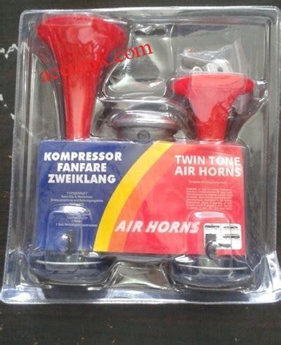 Horn Telolet 3 Terompet jual klakson horn terompet 2 corong 12 volt power dinamo