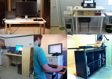 standing desk ikea lifehacker diy ikea standing desks for every budget lifehacker australia