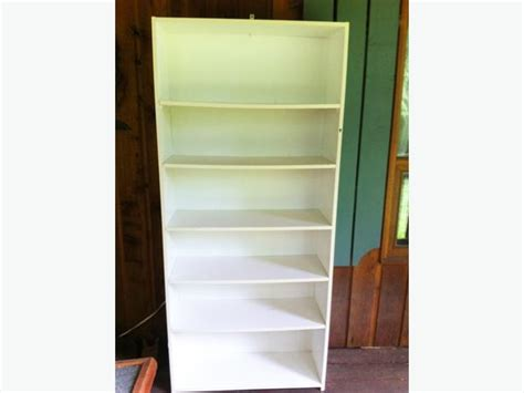 white bookcase for sale 6 foot white bookcase for sale courtenay comox valley