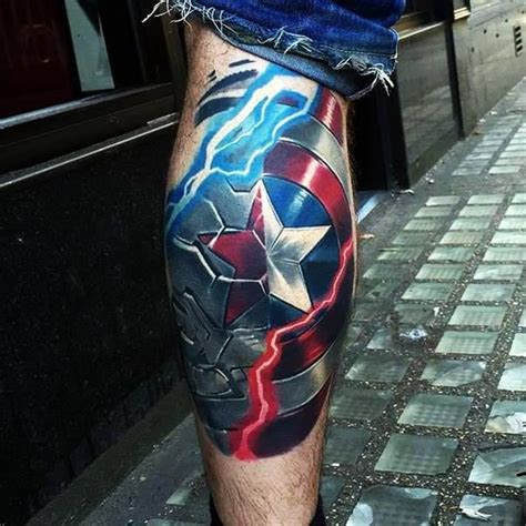 winter soldier tattoo awesome captain america and the winter soldier